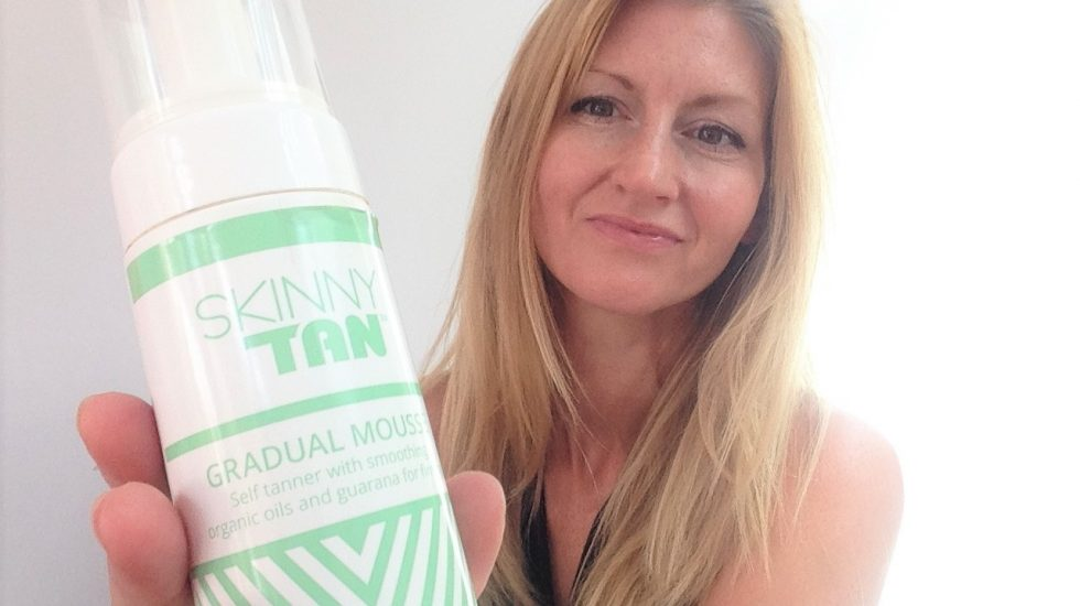 Using skinny Tan Gradual Mousse
