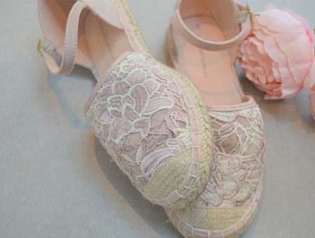 blush pink shoes