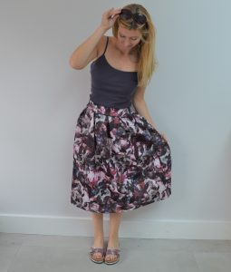 Summer Time Midi Skirt Style