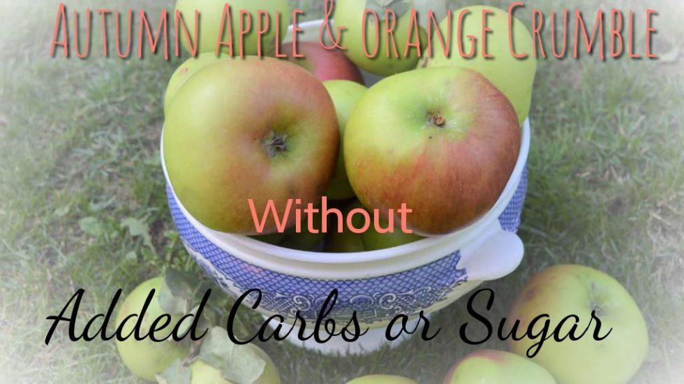 apple and orange crumble