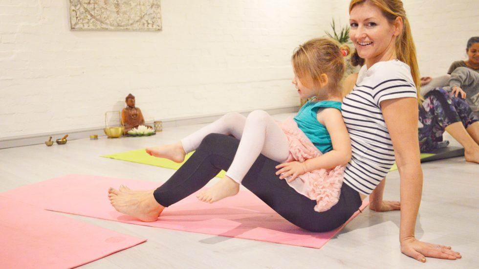 Family Acro Yoga