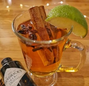 Hot Mulled Gin