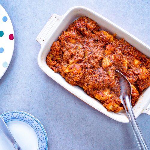 Chicken Casserole with Quinoa