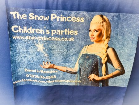 Magical Snow Princess Themed Children's Parties