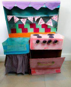 Cardboard Kitchen