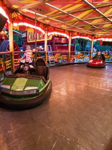 Dodgems at the Carters Steam fair