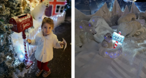 Winter Wonderland Trail and Grotto at Dobbies