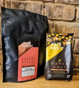 cafedirect mayan gold and london fields limited edition coffee