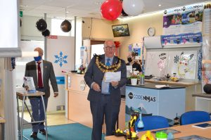 Mayor Of Newbury opening code ninjas