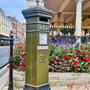 The Green postbox in Windsor